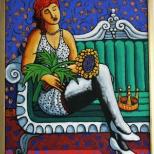 Queen of the ball  –  SOLD