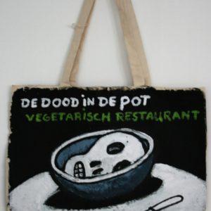Vegan restaurant bag